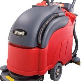 半自动洗地机|电瓶式洗地机|超市用洗地机价格
