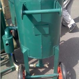 钢板移动式除锈喷砂机