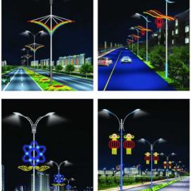 路灯上用的节日彩灯