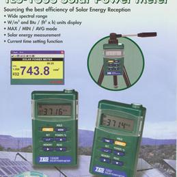 台湾泰仕 TES-1333R 太阳能功率表RS-232