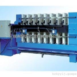 全自动厢式板框压滤机隔膜厢式压滤机