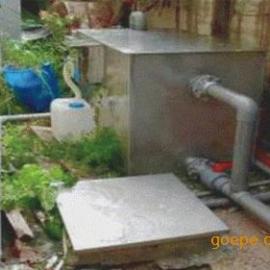 厨房隔油池(无动力油水分离器)