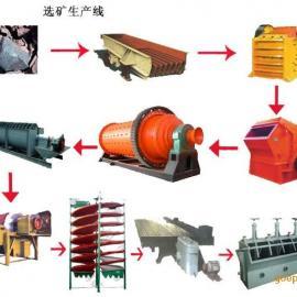 选铜矿石设备铜矿石选矿设备铜矿选矿机械铜矿选矿生产线