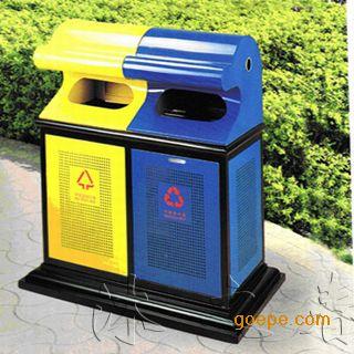 公园分类垃圾桶