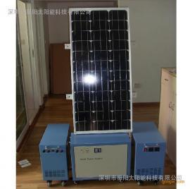 100W太阳能发电系统,家用太阳能小型发电系统