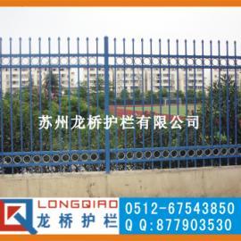 热镀锌静电喷涂栏杆/热浸锌静电喷涂栏杆/龙桥护栏