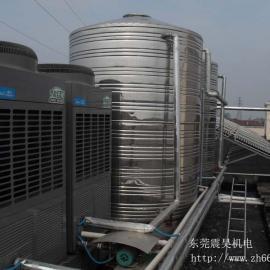 长安美的商用空气能热水器|长安空气源热泵热水机工程安装商