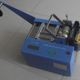 新款热缩管切管机、黄腊管切管机铁氟龙管切管机套管切管机