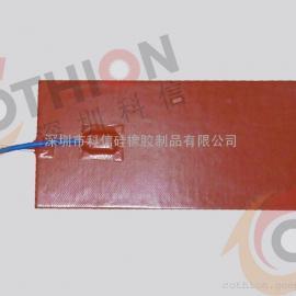 热销 电池动力加热片硅胶材质加热器 加工
