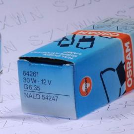 12V30W欧司朗手术无影灯64261卤素米泡