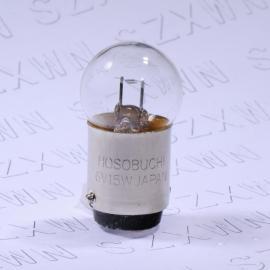 HOSOBUCHI灯泡OP2128 6V15W光学灯珠