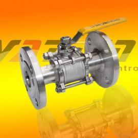 DIN标准手动碳钢法兰球阀,wcb高平台法兰球阀