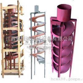螺旋溜槽,玻璃钢螺旋溜槽,尾矿回收设备,专业选矿溜槽