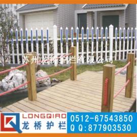 苏州PVC花坛护栏/苏州小区别墅护栏/苏州别墅围栏