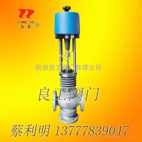 ZAZXQE-16K电动三通调节阀(导热油温度调节)