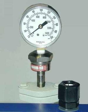 隔膜压力表