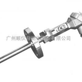 供应广州法兰式热电阻