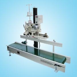 自动折边缝包机组|皮带输送自动缝包机