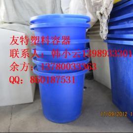 厂家直销芜湖47L,60L塑料桶,亳州PE圆桶,周转桶