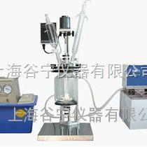 双层玻璃反应釜/双层玻璃反应器/玻璃反应釜GN-5L