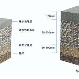 透水材料,透水混凝土增强剂,透水混凝土粘结剂