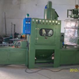 全自动通过式带锯条喷砂机.锯条代理喷砂机