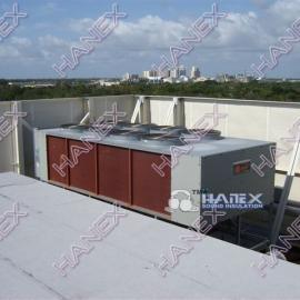 楼顶空调中央机组噪音治理
