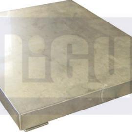 高精度不锈钢双层电子地磅