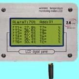 电控柜无线温度检测系统