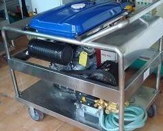 汽(柴)油驱动高压清洗机YXQ3521