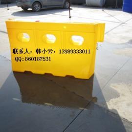 友特提供PE水马,SB8816塑料隔离墩,马路防撞墩