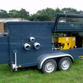 雨水排水泵车|进口排水泵车