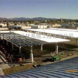 不防水车棚 太阳能不防水车棚