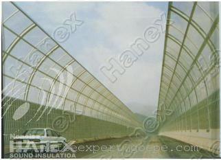 全封闭式高架桥隔声屏障