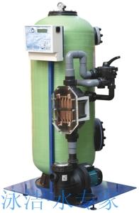 德国安康全金属离子处理器 泳池进口水处理设备