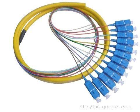 sc 12芯 尾纤         产品名称: sc 12芯 尾纤       产品编号: bh