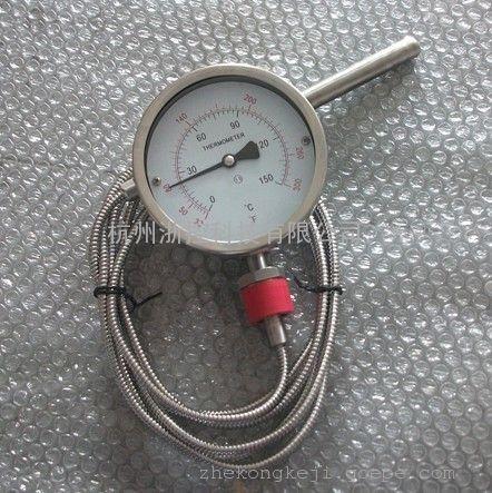 万向压力式温度计