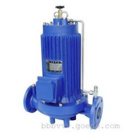 SPG型屏蔽式管道泵,立式无噪音管道屏蔽泵