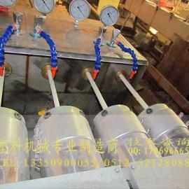 PVC一出四穿线管挤出机设备|PVC一出二生产线机械|配方
