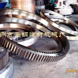 复合肥设备滚筒筛大齿轮