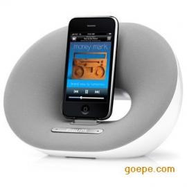 飞利浦DS3000 台式基座扬声器 多媒体闹钟播放器