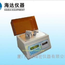 HD-50A数显式挺度测试仪|纸板耐弯曲强度测量必备仪器