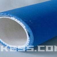 耐磨损食品输送管,蓝色橡胶钢丝食品级输送管