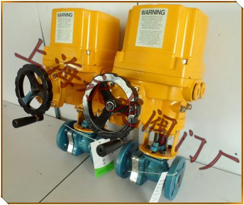 电动切断阀是工业自动化过程控制的一种管道压力元件,通常用于管道图片