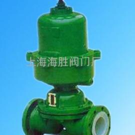 G6K41J型常开式气动衬胶隔膜阀