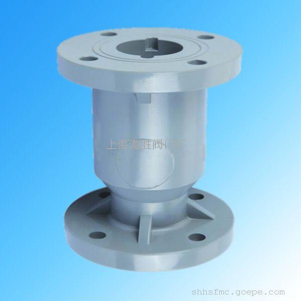 产品描述: h42f-6v法兰式球芯塑料止回阀:   upvc图片