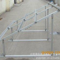 热销屋顶压载式铝合金光伏支架系统 压载式屋顶光伏支架支架