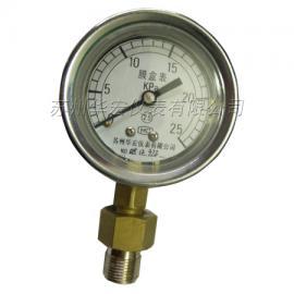 YE不锈钢膜盒压力表/苏州/山东/新疆压力表厂家