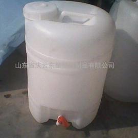 20L带水嘴塑料桶20L酱油醋塑料桶