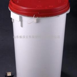 50L圆形塑料桶50L大口美式塑料桶